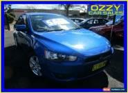 2009 Mitsubishi Lancer CJ MY09 ES Sportback Blue Manual 5sp M Hatchback for Sale