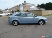 2010/10 FORD MONDEO ZETEC 2.0 TDCI 140 5DR BLUE AC ALLOYS FSH NO RESERVE for Sale