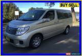 Classic 2006 Nissan Elgrand E51 Gold Automatic 5sp A Wagon for Sale