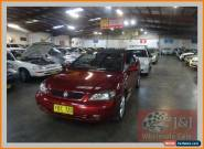 2002 Holden Astra TS Convertible Maroon Automatic 4sp A Convertible for Sale