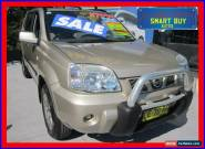 2004 Nissan X-Trail T30 MY04 ST-X Special Edition (4x4) Gold Automatic 4sp A for Sale