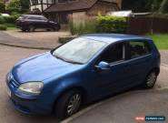 2004 VOLKSWAGEN GOLF FSI S BLUE BARGAIN for Sale