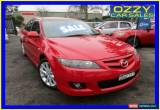 Classic 2006 Mazda 6 GG 05 Upgrade Luxury Sports Red Manual 6sp M Hatchback for Sale
