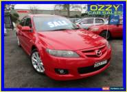 2006 Mazda 6 GG 05 Upgrade Luxury Sports Red Manual 6sp M Hatchback for Sale
