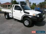2007 Toyota Hilux KUN26R 07 Upgrade SR (4x4) White Automatic 4sp A Cab Chassis for Sale
