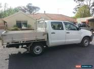 2005 Toyota Hilux Dual Cab, GGN15R, White, 5 Speed, tray back, low km  for Sale