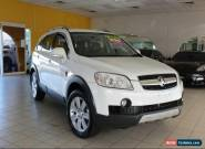 2009 Holden Captiva CG MY09.5 LX White Automatic A Wagon for Sale