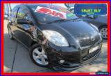 Classic 2006 Toyota Yaris NCP91R YRX Black Automatic 4sp A Hatchback for Sale