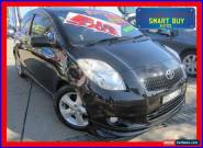 2006 Toyota Yaris NCP91R YRX Black Automatic 4sp A Hatchback for Sale