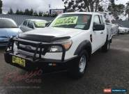 2010 Ford Ranger PK XL (4x4) White Manual 5sp M Cab Chassis for Sale