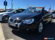 2007 Volkswagen EOS 1F MY08 Upgrade 2.0 TDI Black Automatic 6sp A Convertible for Sale