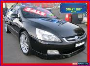 2006 Honda Accord 40 V6 Luxury Black Automatic 5sp A Sedan for Sale