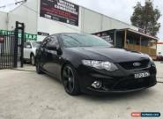 2010 Ford Falcon FG XR6T Black Automatic 6sp A Sedan for Sale