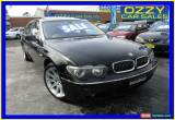 Classic 2003 BMW 735LI E66 35LI Black Automatic 6sp A Sedan for Sale