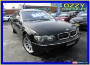 2003 BMW 735LI E66 35LI Black Automatic 6sp A Sedan for Sale