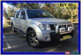 Classic 2009 Nissan Navara D40 Titanium Edition (4x4) Silver Automatic 5sp A for Sale