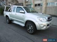 2009 Toyota Hilux KUN26R 09 Upgrade SR5 (4x4) Silver Manual 5sp M Extracab for Sale