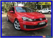2011 Volkswagen Golf 1K MY11 GTi Red Automatic 6sp A Hatchback for Sale