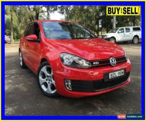 Classic 2011 Volkswagen Golf 1K MY11 GTi Red Automatic 6sp A Hatchback for Sale