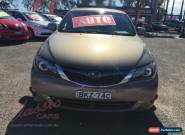 2008 Subaru Impreza MY08 RS (AWD) Gold Automatic 4sp A Hatchback for Sale