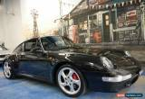 Classic 1997 Porsche 911 Carrera 993 4S AWD Metallic Black Manual 6sp M Coupe for Sale