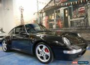1997 Porsche 911 Carrera 993 4S AWD Metallic Black Manual 6sp M Coupe for Sale