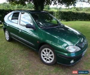 Classic Renault Megane 1.4 16v 2002 Sport Green 5 door for Sale