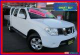 Classic 2011 Nissan Navara D40 ST (4x4) White Automatic 5sp A Dual Cab Pick-up for Sale
