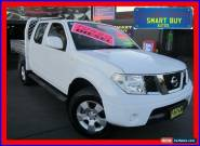 2011 Nissan Navara D40 ST (4x4) White Automatic 5sp A Dual Cab Pick-up for Sale