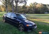 Classic 2001 BMW 318i 4 DOOR SEDAN E46 EXECUTIVE for Sale