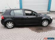 2006 VOLKSWAGEN GOLF GT TDI BLACK DAMAGED SALVAGE SPARES OR REPAIR easy fix   for Sale