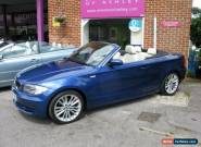 BMW 1 Series 3.0 125i SE Convertible 2d 2996cc for Sale