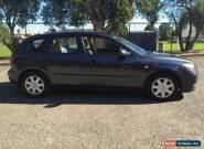 2005 Mazda 3 BK Neo Grey Automatic 4sp A Hatchback for Sale