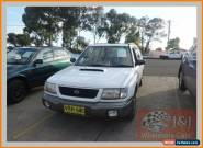 1998 Subaru Forester GT White Manual 5sp M Wagon for Sale