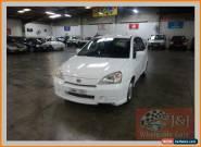 2002 Suzuki Liana GS White Manual 5sp M Hatchback for Sale