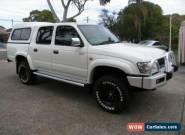 2005 Toyota Hilux KZN165R SR5 (4x4) White Manual 5sp M Dual Cab Pick-up for Sale