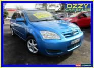 2006 Toyota Corolla ZZE122R Ascent Sport Seca Blue Manual 5sp M Hatchback for Sale