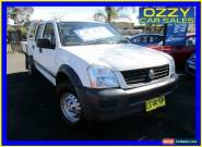 2006 Holden Rodeo RA MY06 Upgrade LX (4x4) White Manual 5sp M Crewcab for Sale