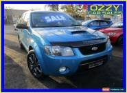 2006 Ford Territory SY Turbo (4x4) Blue Automatic 6sp A Wagon for Sale