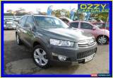 Classic 2011 Holden Captiva CG Series II 7 LX (4x4) Silver Automatic 6sp A Wagon for Sale