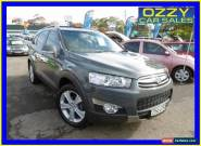 2011 Holden Captiva CG Series II 7 LX (4x4) Silver Automatic 6sp A Wagon for Sale