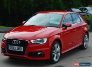 2013 13 AUDI A3 2.0 TDI S LINE 5D 148 BHP DIESEL for Sale