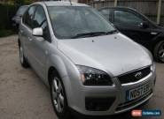 2007 FORD FOCUS ZETEC CLIMATE SILVER for Sale