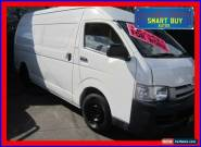 2006 Toyota Hiace TRH221R SLWB White Manual 5sp M Van for Sale