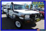 Classic 2011 Toyota Landcruiser VDJ79R 09 Upgrade Workmate (4x4) White Manual 5sp M for Sale