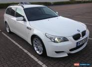 2006 BMW 530D TOURING AUTO WHITE 300-BHP DIESEL EX POLICE CAR for Sale