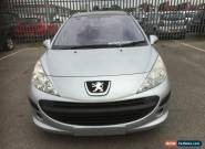 """L@@K 2007 """"57"""" PEUGEOT 207 SE 1.6 HDI 110 SILVER.SPARES OR REPAIRS.FINANCE REPO. for Sale"""