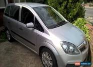 zafira 1.6 LPG spare or repair  for Sale