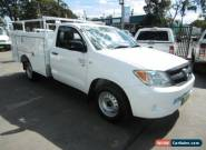 2006 Toyota Hilux GGN15R 06 Upgrade SR White Automatic 5sp A Cab Chassis for Sale