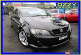 Classic 2007 Holden Commodore VE SS-V Black Manual 6sp M Sedan for Sale